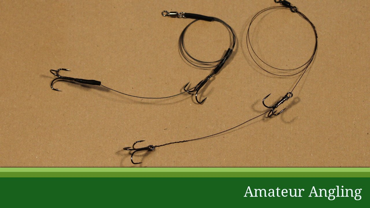 How To Tie A Wire Trace For Pike Fishing Amateur Angling