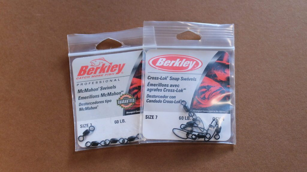 Berkley swivels